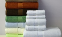 Bamboo cotton towels